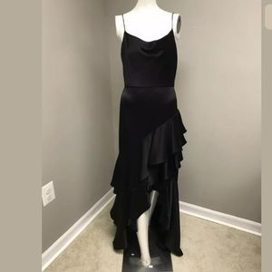 Alice + Olivia Lauralei Ruffle High-Low Gown SZ 4